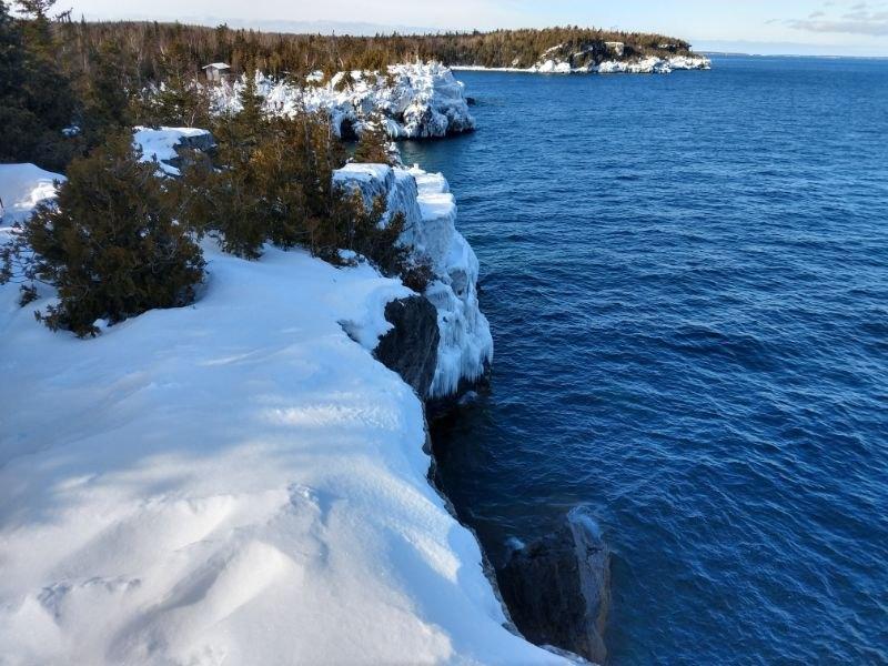 Bruce Peninsula National Park Winter Camping and Hiking ...