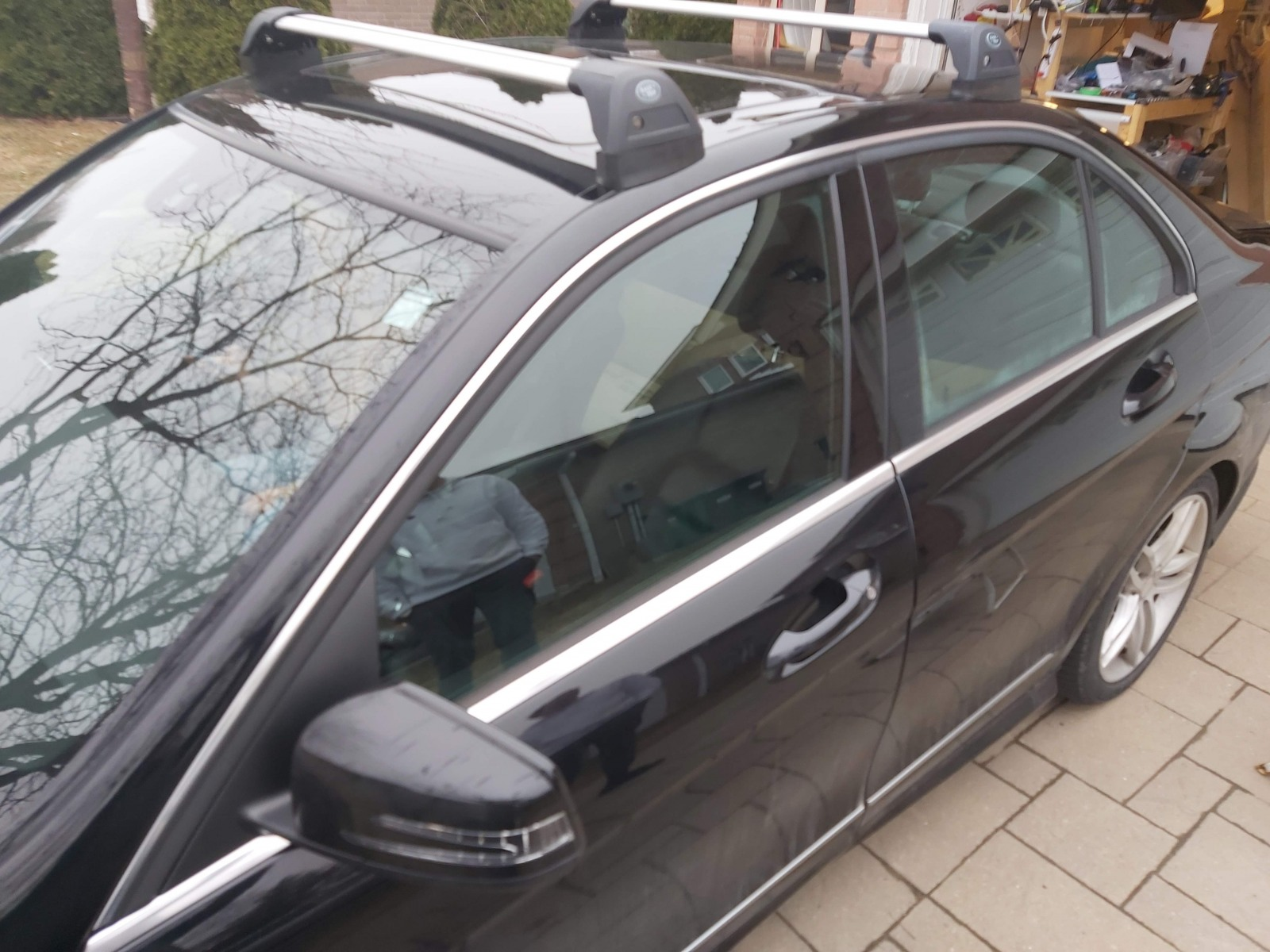 mercedes benz c300 c350 fixed mounting